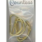 "D-Rings, 32mm, 1.25"" Gold, 4 Count"