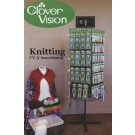 "Clover Vision - Knitting/Crochet Display Rack Program with a free 9"" x 12"" monitor"