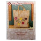 Duftin Punch By Number/Punch Needle Embroidery Multi Flower/Melange Bag, 38cm x 42cm