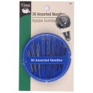 30 Assorted Needles with Threader