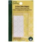 24 Clear Fabric Grippers