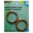"Cover Button/Make to Match Button, 2 count, 1.5"", Size 60, Gold"