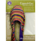 "Dritz Espadrilles Outer Fashion Fabric, 16"" x 22"", White - 50% OFF!"