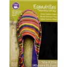 "Dritz Espadrilles Outer Fashion Fabric, 16"" x 22"",  Black - 50% OFF!"