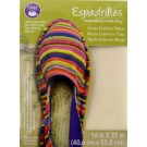Dritz Espadrilles Kids Espadrille Soles with easy-to-follow instructions, One Pair, Size 3 - 50% OFF!