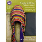 "Dritz Espadrilles Outer Fashion Fabric, 16"" x 22"",  Grey - 50% OFF!"