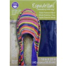 "Dritz Espadrilles Outer Fashion Fabric, 16"" x 22"",  Navy Blue - 50% OFF!"