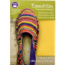 "Dritz Espadrilles Outer Fashion Fabric, 16"" x 22"",  Yellow - 50% OFF!"