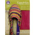 "Dritz Espadrilles Outer Fashion Fabric, 16"" x 22"",  Rose - 50% OFF!"