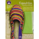 "Dritz Espadrilles Outer Fashion Fabric, 16"" x 22"",  Green - 50% OFF!"