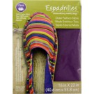 "Dritz Espadrilles Outer Fashion Fabric, 16"" x 22"",  Purple - 50% OFF!"