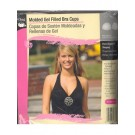 Molded Gel Filled Bra Cups, Fits A/B Cup, Black