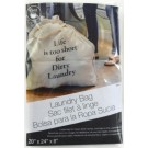 Laundry Bag - 6 Oz Canvas - Life Is Too Short For Dirty Laundry