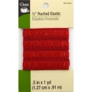 "Dritz Ruched Elastic - .5"" by 1 Yard"