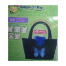 Button On Bag Black Tabbed