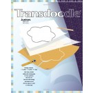"Transdoodle Juniors, 18"" x 24"", Reusable Transfer Tracing Paper, 4 Sheets,  White"