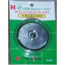 Ergo 2000 Rotary Cutters Replacement Blades, 45mm, 5 Count