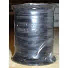 Elastic Round Polyester Black (1mm Wide) 100M