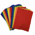 """Felt Squares in Classic Colours (Assorted), Eco-Fi Felt, 9"""" x 12"""", 24 Squares Per Package (Ideal For School Crafts & At Home Projects!)"""