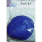 Needle Felt, Royal Blue, 0.5oz