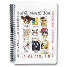 Small Never Ending Notebook, 20 Erasable Pages