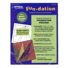 Fun-Dation Foundation Paper Sheets 25 Pack, 21cm x 28cm