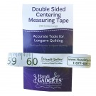 """Double-Side Centering Tape & Measuring Tape, 120"""""""