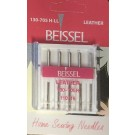 Beissel Sz 110 Leather Machine Needles, 5 Count
