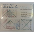 Mini Ruler Set