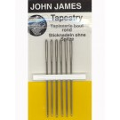 John James Tapestry Needles, Size 18, 6 Count