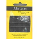 John James Hand Sewing Needles, 25 count