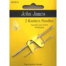 John James Knitters Needles, 2 count