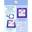 "Flower Power Pre-Printed Freezer Paper, 24"" x 36"", 2 Sheets"