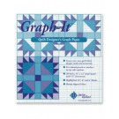 "Graph-It: 12"" x 12"" Quilt Designer's Graph Paper"