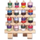 June Tailor - Bobbin Rack - 16 Hooks - Holds 32 Bobbins (Bobbins not included)