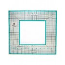 """June Tailor 12.5"""" Outer with 6.5"""" Inner Square Ruler"""