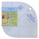 June Tailor Round the Corner Ruler: Create Perfect Round Corners On Fleece Blankets & Projects