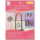 Print'n Press Iron-On Transfers for Inkjet Printers, 10 pack