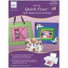 Quick Fuse Inkjet Fabric Sheets, White, 3 sheets
