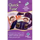 Quick Fuse Fusible Inkjet Fabric Sheets, White, 3 sheets