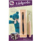 Authentic Knitting Board - Tadpole Knitting Board with  Instructions,   7 patterns and Knit Hook