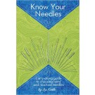 Know Your Needles Pocket Book Guide: How To Choose Hand & Machine Needles