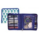 Knitter's Pride Interchangeable Needle Case - Glory Hand Block Print