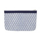 Knitter's Pride Full Fabric Zipper Pouch (Large) - Reverie Hand Block Printed Fabric