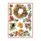 Duftin Lindner's Creativ-Set Cross Stitch/Embroidery Kit - 'Autumn Delights', 80x80cm, White