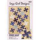 Starry Night Quilt Pattern (old item#218LG)