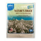 Pellon Nature's Touch Natural Cotton Batting, Crib Size, 45'' x 60'', 1/8'' Loft