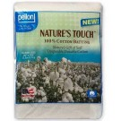 Pellon Nature's Touch Natural Cotton Batting, Queen Size, 96'' x 108'', 1/8'' Loft