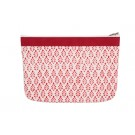 Knitter's Pride Full Fabric Zipper Pouch (Medium) - Reverie Hand Block Printed Fabric