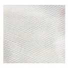 "Mini Rice Mesh Fabric, White, 5M x 60"" (100% Polyester)"